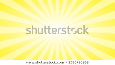 abstract yellow sun rays vector background summer sunny 4k design stock photo © kyryloff