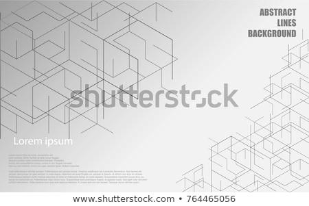 Diagonale cross linee bianco abstract pattern Foto d'archivio © olehsvetiukha