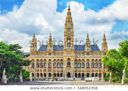Stock photo: town hall of the Vienna, Austria
