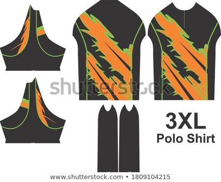 Polo objects, Sport uniform pattern Stock photo © netkov1
