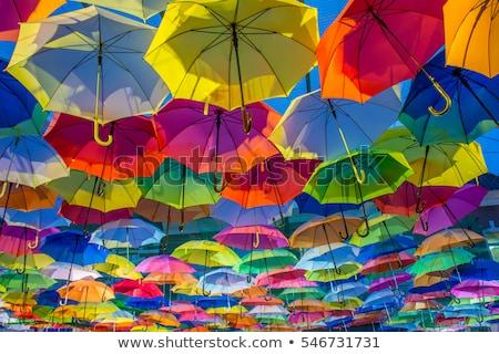 傘 · パターン · 子供 · 空 - ストックフォト © netkov1