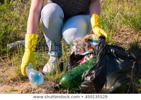 toksyczny · odpadów · lasu · środowiskowy · charakter · metal - zdjęcia stock © nito