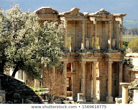 Edad ruinas famoso edificio verano Foto stock © grafvision