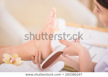 санаторно-курортное лечение инструменты педикюр Top мнение вертикальный Сток-фото © dariazu