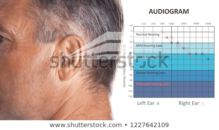 Man With Symptom Of Hearing Loss Stock photo © AndreyPopov