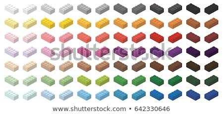 crianças · tijolo · brinquedo · simples · colorido · tijolos - foto stock © ukasz_hampel