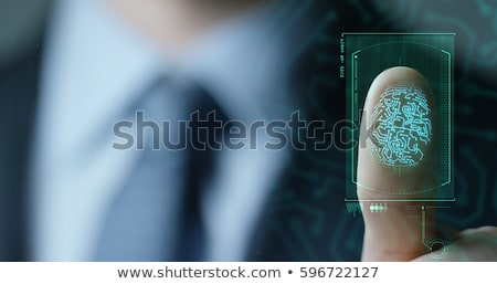 Biometric Security Concept Stock photo © Lightsource