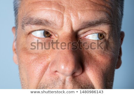 Man oog oefening visie ogen Stockfoto © AndreyPopov