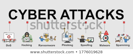 Cyber Crime Banner Stock photo © -TAlex-