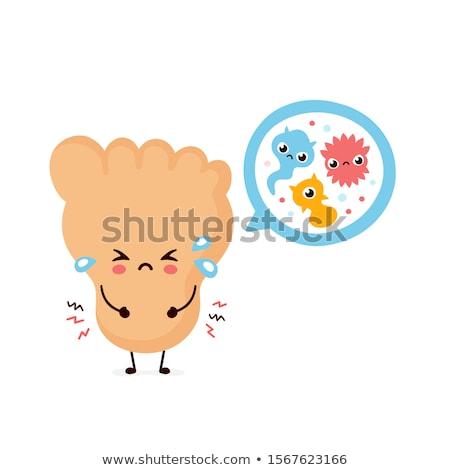 菌 爪 キノコ 医療 足 ストックフォト © AndreyPopov