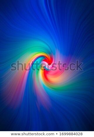 Rainbow Fractal Twirl Stock photo © ArenaCreative