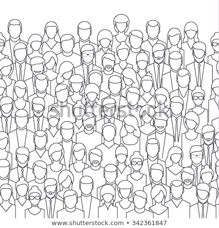 people crowd background Stock photo © Paha_L