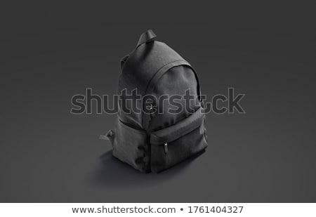 dark knapsack Stock photo © prill