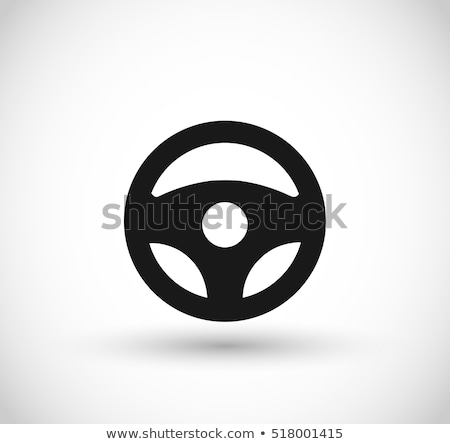 Detail of a steering wheel Stock photo © mtoome