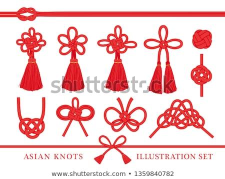 chinese auspicious knot stock photo © bbbar