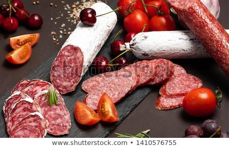 Slices of Delicatessen Stock photo © zhekos
