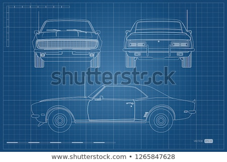terv · versenyautó · autó · sport · fehér · kerék - stock fotó © nmcandre
