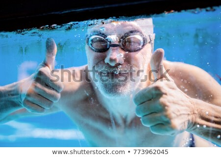 シニア スイマー 男 幸せ フィットネス ストックフォト © photography33