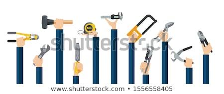 Ambachtsman metaal hout werknemer machine Stockfoto © photography33