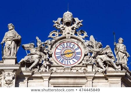 telhado · igreja · vaticano · museu · arte · arquitetura - foto stock © Pilgrimego