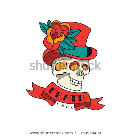 top hat and roses Stock photo © dolgachov
