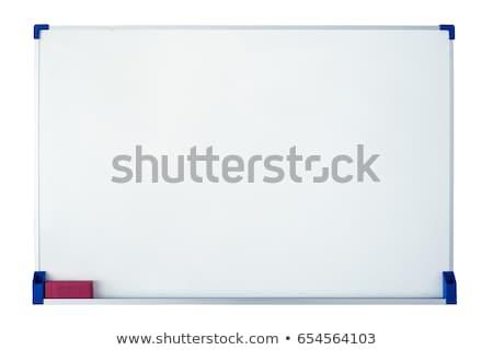flipchart · anlamaya · ayakta · işaret · ofis · soyut - stok fotoğraf © tashatuvango