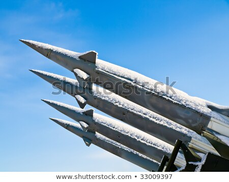 anti aircraft rockets Stock photo © jonnysek