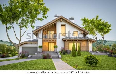 Stock photo: Cozy houses