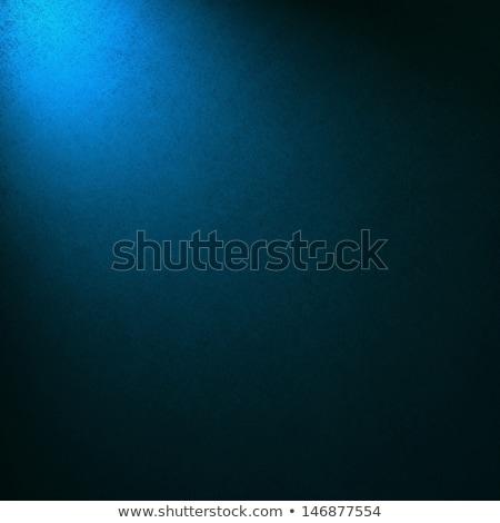 elegant blue metallic background with corners stock photo © monarx3d
