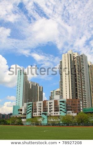 tuen mun hong kong downtown at day time stock photo © kawing921
