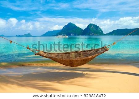 Stock photo: Tropical Island, getaway paradise