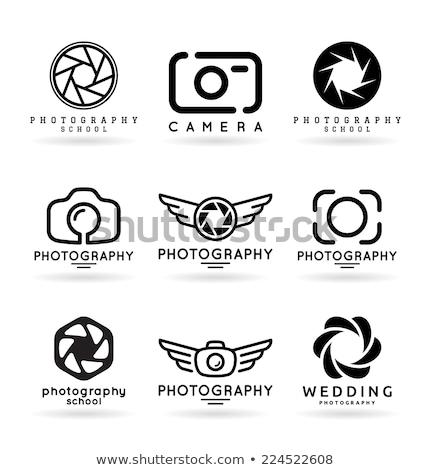 Coroa fotografia logotipo negócio quadro azul Foto stock © shawlinmohd