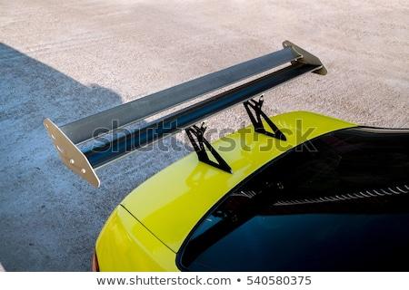 coche · deportivo · defensa · primer · plano · moderna - foto stock © arenacreative