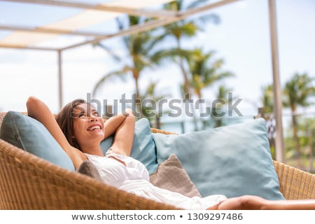 Early at the Beach Stock photo © ozgur