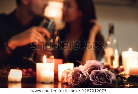 ロマンチックな トースト 家族 手 カップル 男性 ストックフォト © Alegria111