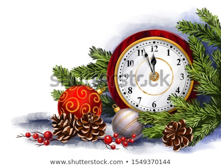 the gift of time   ornate clock stock photo © iqoncept