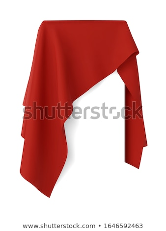 Box covered with cloth Stock photo © montego