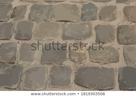 Stone pavement texture Stock photo © meinzahn