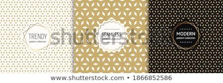 Luxe gouden gift card klein diamanten exclusief Stockfoto © liliwhite