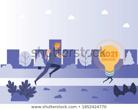 Lightbulb Road Stock photo © Lightsource