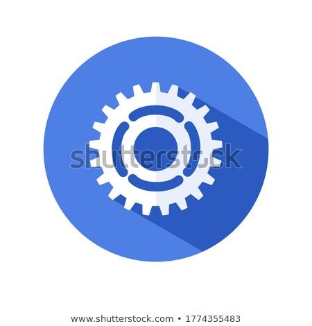 Maquinaria serviço engrenagens diagrama estilo mecanismo Foto stock © tashatuvango