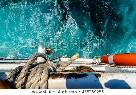 巨人 業界 地平線 地中海 海 水 ストックフォト © enricoagostoni