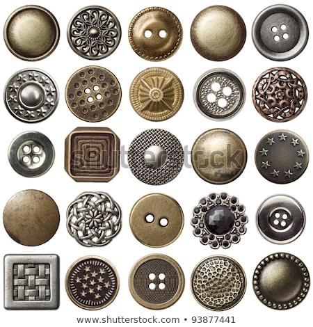 Bağbozumu düğme tanıtım eski düğmeler kullanılmış Stok fotoğraf © Fotografiche