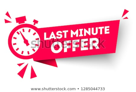 Summer Offers Red Vector Icon Button Stock photo © rizwanali3d