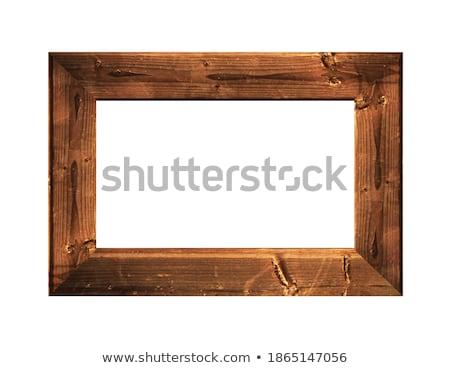 Old wooden framework Stock photo © sibrikov