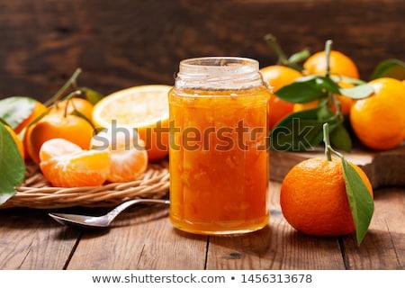 mandarin · narancsok · napos · konyhaasztal · természet · otthon - stock fotó © hansgeel
