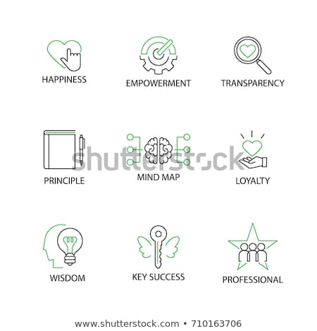 Mind Map Icon. Business Concept Stock photo © WaD