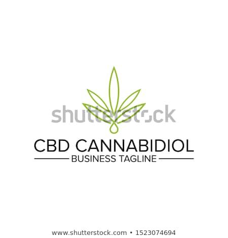 marijuana green leaf symbol illustration stock photo © Zuzuan