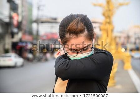 Zayıf para adam ağlayan damla Stok fotoğraf © kentoh