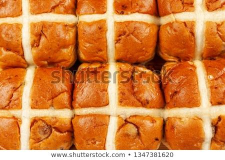 fresh round buns close-up  Stock photo © OleksandrO
